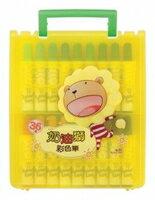 【新版】奶油獅36色彩色筆BLM-362/A (外盒顏色隨機出貨)。