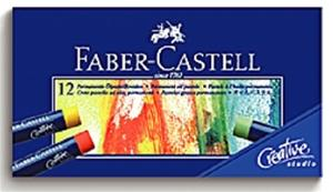 【FABER-CASTELL】輝柏 127012 創意工坊油性粉彩條 12色