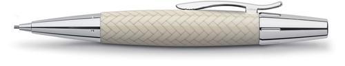 【FABER-CASTELL】輝柏 138353 鑲木紋旋轉鉛筆(1.4mm筆芯/象牙白)