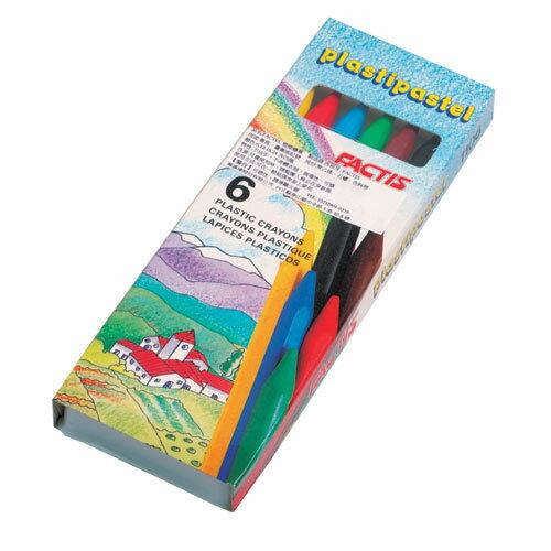 萬事捷 1820 西班牙塑膠臘筆-6色 / 盒