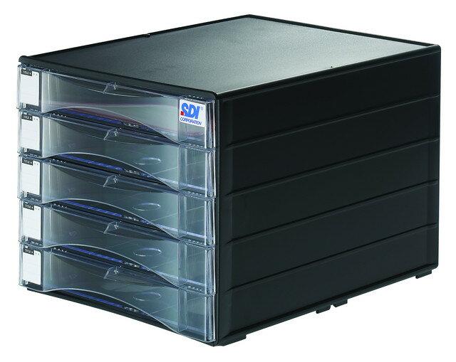 SDI 手牌 1847N 桌上型A4五層資料櫃 / 個