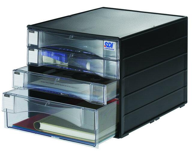 SDI 手牌 1848N 桌上型A4四層資料櫃 / 個