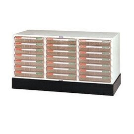 B4公文櫃系列 -B4-8307+B4-03 三排文件櫃+底座