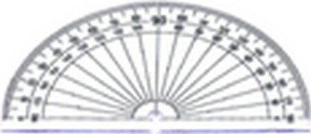 W.I.P   HA401-3  量角器-180度 / 個