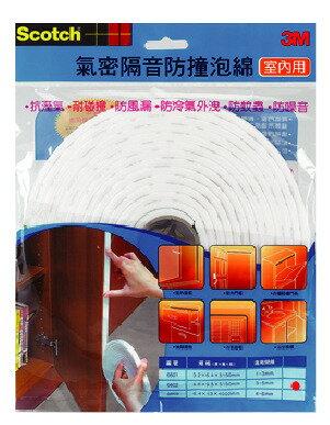 3M   6601  氣密隔音防撞泡棉(室內用)/包