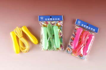 進大  JD-F07 中級彩虹跳繩 塑膠柄 SKIPPING ROPE / 條