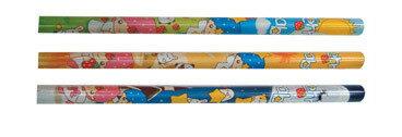 筆樂 Penrote PB8463 BERRY BABE 粗三角鉛筆 (款式隨機出貨) -36支入 / 筒