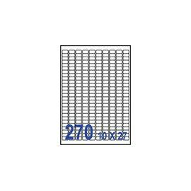 裕德 U4343電腦列印標籤270格17.78X10mm~100張入   包
