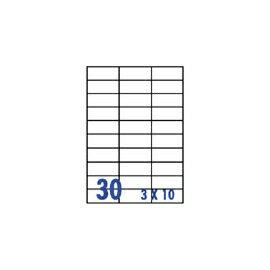 裕德 U4456 電腦列印標籤30格70X29.7mm~100張入   包