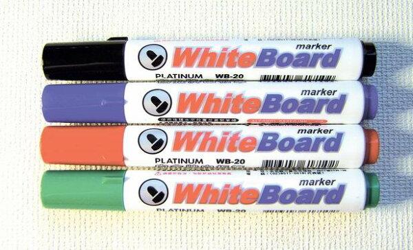 PLATINUM白金牌WB-20白板筆-12支入打