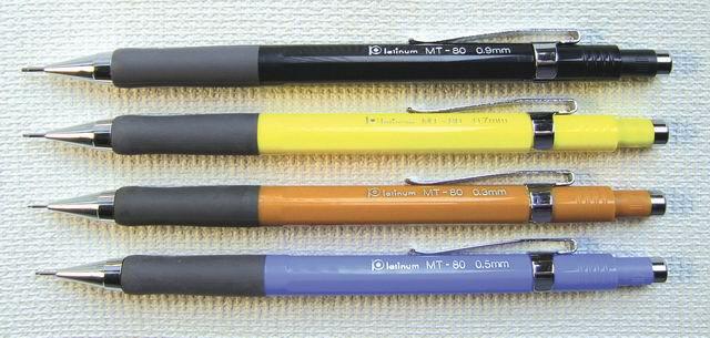 PLATINUM 白金牌 MT-100 日本原裝進口製圖筆 / 支