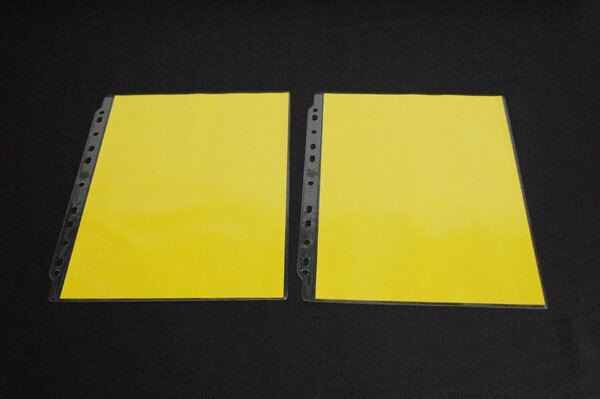 鼎盛 731-A4-11孔PVC顆粒皮內頁附紙10張/ 包