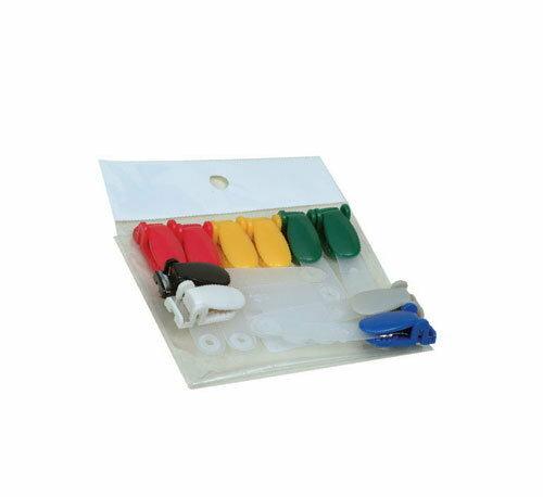 歐菲士 識別證套塑膠夾頭(顏色隨機出貨)-10個入 / 包