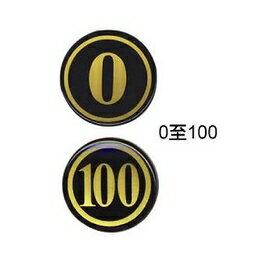 W.I.P  NO.250  數字號碼牌 / 個
