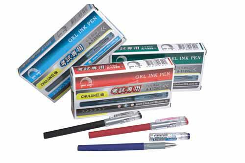 巨倫 A-1329 0.5考試專用中性筆 12支/盒