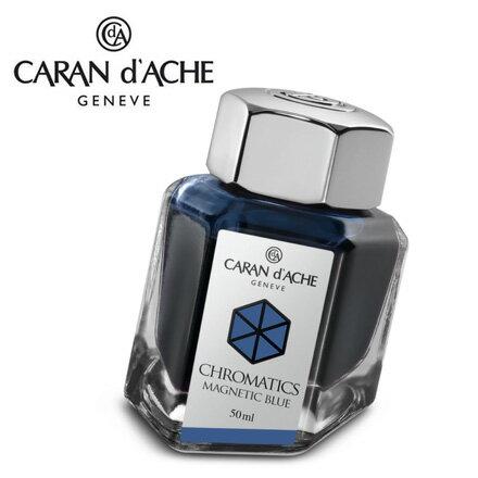 CARAN d  ^#27 ACHE 瑞士卡達 Chromatics 色彩墨水. 磁性藍
