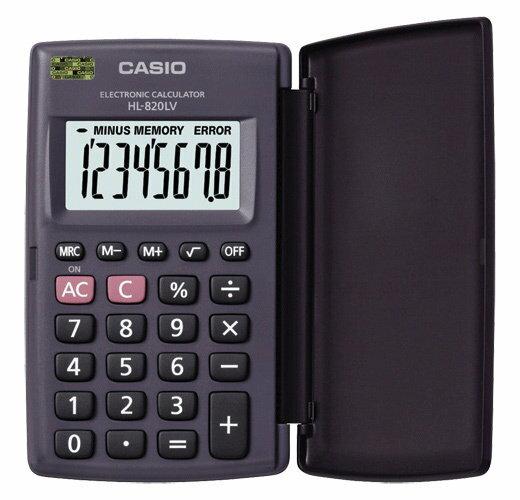 【破盤價】CASIO 卡西歐 HL-820LV 攜帶型計算機 / 台