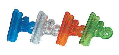 筆樂 Penrote KC022 51mm 9507 透明票夾(顏色隨機出貨)-12個入 / 筒