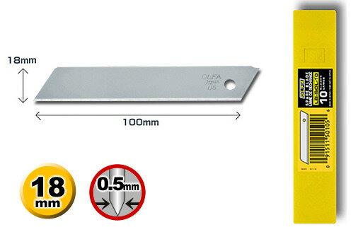 OLFA  LB~SOL~10  大型無折痕美工刀片 ^(10片裝^)  盒