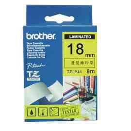 【兄弟】brother 18mm 燙熨轉印標籤帶 TZ-IY41