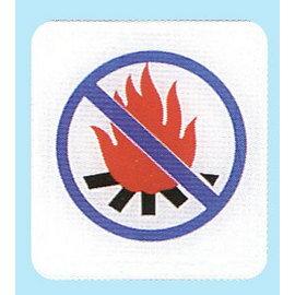 【新潮指示標語系列】HS貼牌-嚴禁煙火HS-530/個