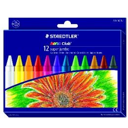 施德樓 MS226NC12 快樂學園特級加寬型蠟筆十二色組  盒