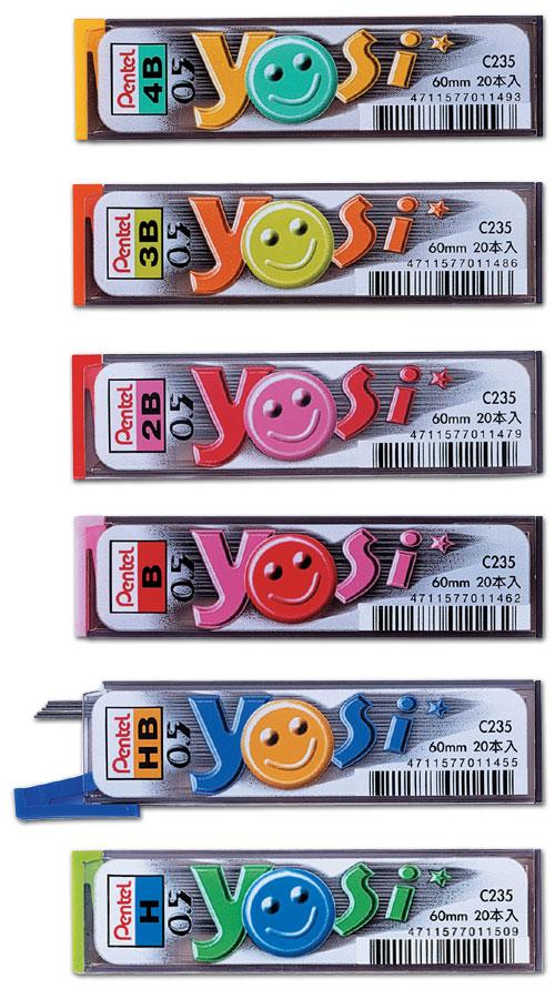 【Pentel飛龍】C235 YOSI系列0.5mm