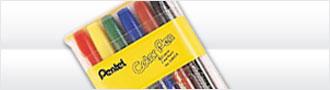 缺貨中  【Pentel飛龍】S360-6  6色組彩色筆