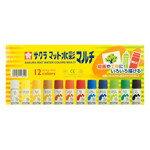 『SAKURA』MWM12PT   摩奇水彩12色  /  盒