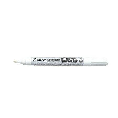 PILOT 百樂 SC-W-M 中型頭白色油漆筆 2.0mm / 支