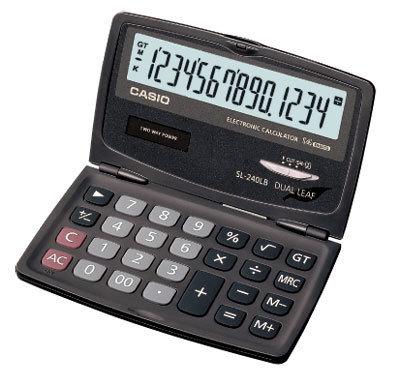 【破盤價】CASIO 卡西歐 SL-240LB 國家考試商務計算機 / 台