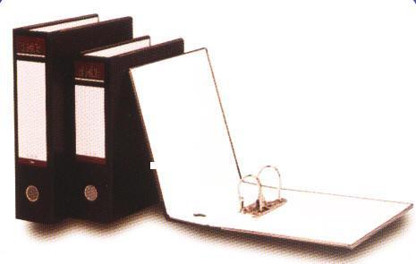 【立強regina】R285S (12入/箱) 中式-2孔拱型夾 - PVC封面- 夾具高度 7.5cm