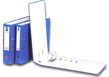 【立強regina】R545 (12入/箱) 2孔拱型夾  - PVC封面- 夾具高度 5cm