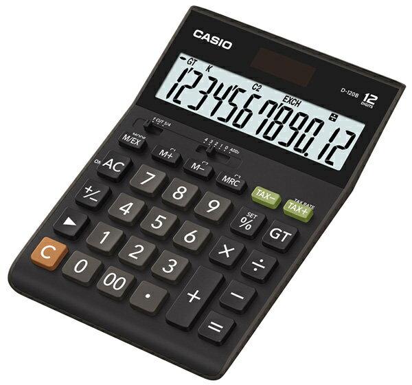 【破盤價】CASIO 卡西歐 D-120B 商用12位數計算機 / 台