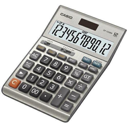 【破盤價】CASIO 卡西歐 DF-120BM 桌上型計算機 / 台
