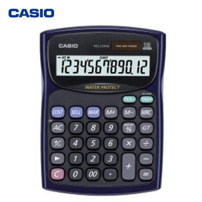 【破盤價】CASIO 卡西歐 WD-220MS-BU 防水防塵計算機 / 台