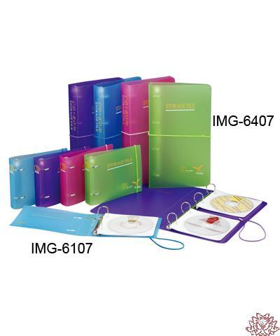 【雙鶖FLYING】IMG-6107 二孔CD保存外夾 附伸縮帶