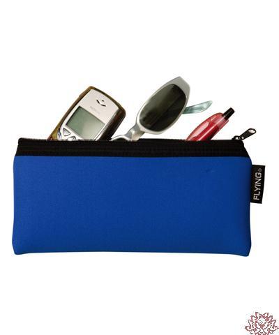 【雙鶖FLYING】E5650 長條型多功能防震保護袋(XS)--可放鉛筆盒、手機、線具、充電器
