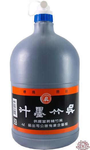 【吳竹】 書法國畫專用 吳竹 墨汁 4公升 /瓶