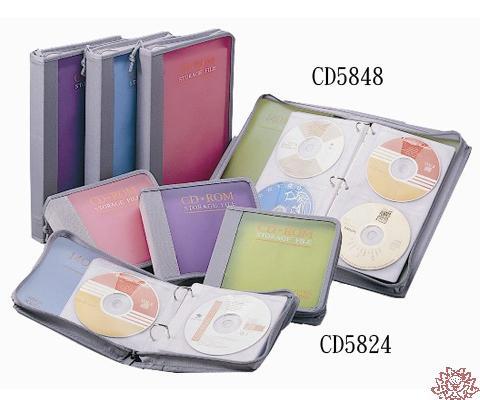 ~雙鶖FLYING~CD~5850冰彩50片 活頁式CD拉鍊包