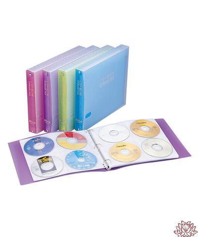 【雙鶖FLYING】CD-5196 96片裝PP透明CD整理夾 含PP外盒