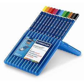 缺貨中【施德樓】MS156SB12全美水彩色鉛筆12色/盒