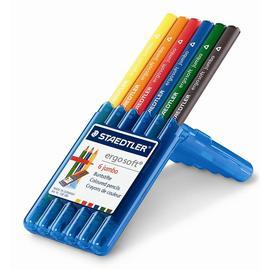 【施德樓】MS158SB6全美色鉛筆加寬型6色/盒