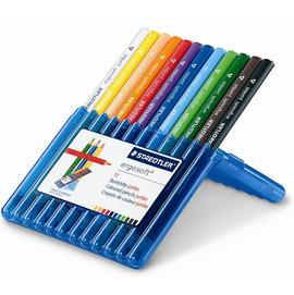 【施德樓】MS158SB12全美色鉛筆加寬型12色/盒