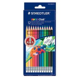 【施德樓】 MS14450NC12 快樂學園 可擦拭色鉛12色  盒