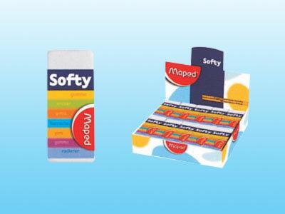 【萬事捷】2155 310Super Softy超軟橡皮擦 (30個/盒)