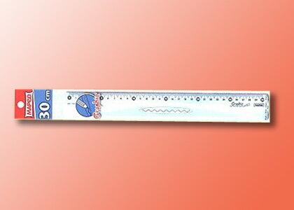 【萬事捷】2160-1 MEPED 高級直尺 ( 30 cm ) (50支/盒)