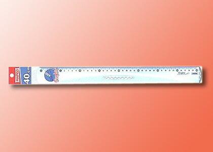 【萬事捷】2161 MEPED 高級直尺 ( 40 cm )(20支/盒)