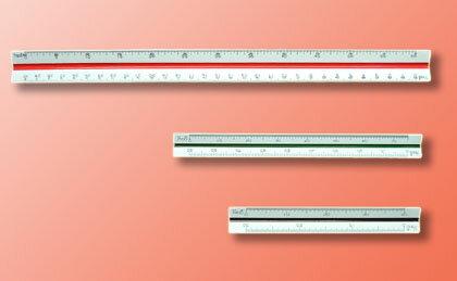 【萬事捷】4107 ( 10 cm ) 比例尺(20支/盒)