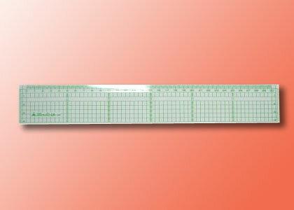 【萬事捷】4130 GP-30 方眼直尺 ( 30 cm ) (12支/盒)